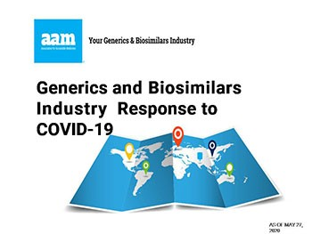 Generics and Biosimilars Industry Response to COVID-19