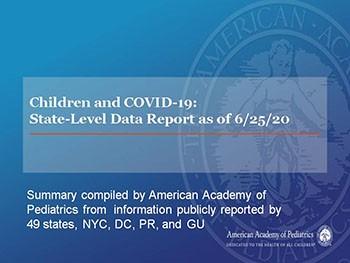 Children and COVID-19: State-Level Data Report