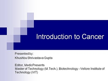 Introduction to Cancer