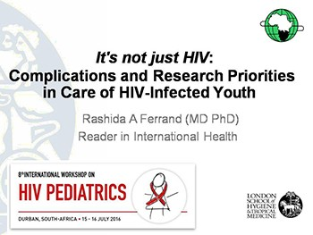 Complications and Research Priorities in Care of HIV-Infected Youth
