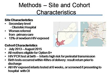 Impact of birth HIV PCR testing on uptake of follow-up EID services for HIV-exposed infants in Cape Town