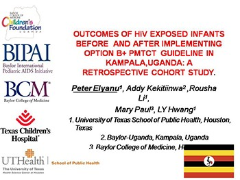 OUTCOMES OF HIV EXPOSED INFANTS BEFORE AND AFTER IMPLEMENTING OPTION B Plus PMTCT GUIDELINE IN KAMPALA