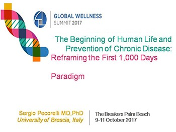 The Beginning of Human Life and  Prevention of Chronic Disease: Reframing the First 1,000 Days