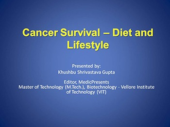 Cancer Survival - Diet and Lifestyle
