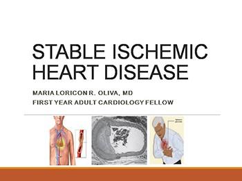 stable ischemic heart disease