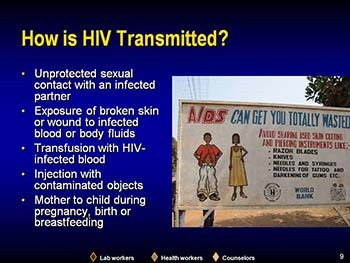 World Health Organization Presentation on Overview of HIV Infection