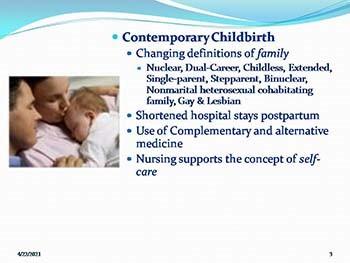 Intro to Maternity Nursing