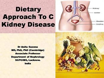 Dietary Approach To C Kidney Disease