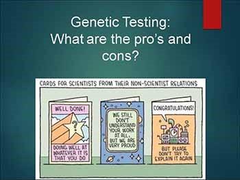 Genetics made easy-demystifying genetic testing