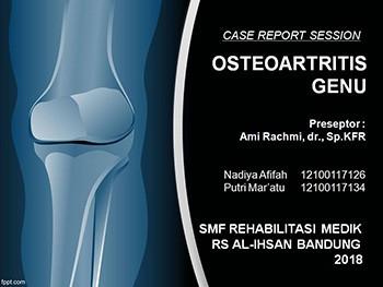 CRS Osteoarthritis