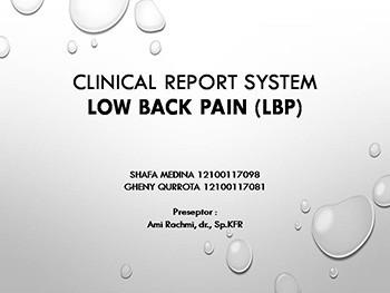 CRS Low Back Pain