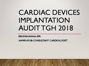 Cardiac Devices Implantation Audit