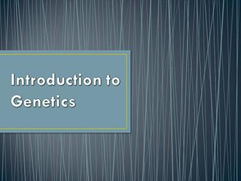 Introduction Of Genetics