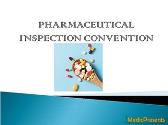 PHARMACEUTICAL INSPECTION CONVENTION