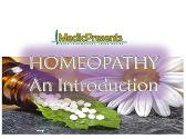 HOMEOPATHY An Introduction