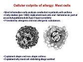 Mechanisms of Allergic Immunity