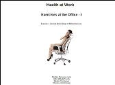 Health at Work - Exercises at the Office