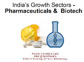 India's Growth Sectors - Pharmaceuticals & Biotech