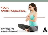 Yoga An introduction