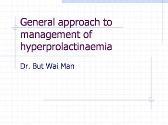Hyperproolactinaemia
