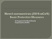 Basic Protective Measures for Novel coronavirus (2019-nCoV)