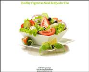 Healthy Vegetarian Salad Recipes for You Medical Notes