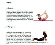 YOGA POSES AND TIPS FOR A FLAT BELLY Medical Notes