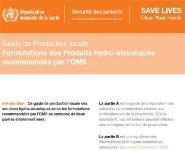 Produits Hydroalcoolique Medical Notes