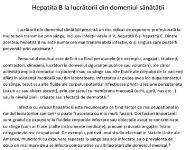 Infectii la lucratorii sanitari Medical Notes