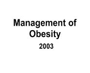 Obesity Medical Notes