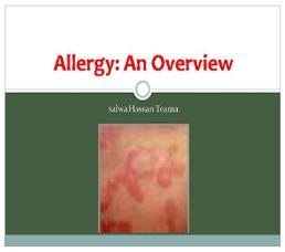 Allergy An Overview