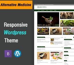 Alternative Medicine Wordpress Theme