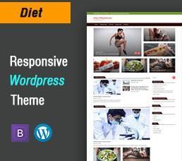 Diet Wordpress Theme