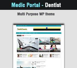 Medical Portal - Dentist Wordpress Theme