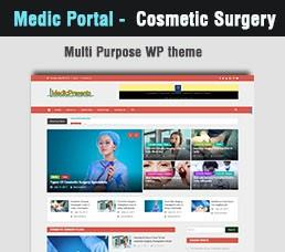 Medical Portal - Cosmetic Surgery Wordpress Theme