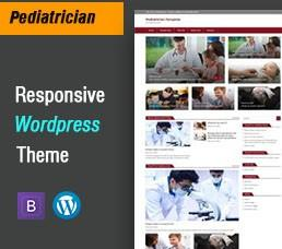 Pediatrician Wordpress Theme