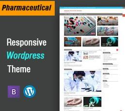 Pharmaceutical Wordpress Theme