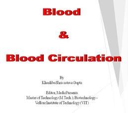 Blood & Blood Circulation