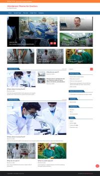 Doctor Wordpress Theme
